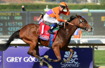 Beholder Looks Ready To Challenge For Pacific Classic Win