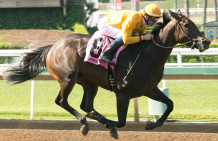 Bendable Wins Beverly Lewis Stakes