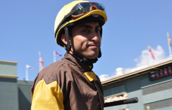 Jockey Edwin Maldonado Suffers Injury In Training&h=223&w=348&zc=1