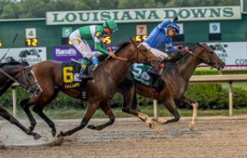 Texas Chrome Wins Super Derby at Louisiana Downs&h=223&w=348&zc=1